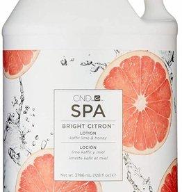 CND Spa Bright Citron Lotion 1 Gallon