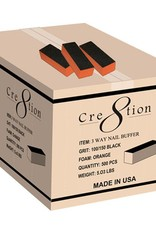 Cre8tion Buffer 3-way Purple Foam (60/100) 500pcs