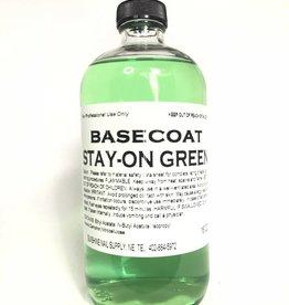 BeBeauty Base Coat Stay-On Green  16oz