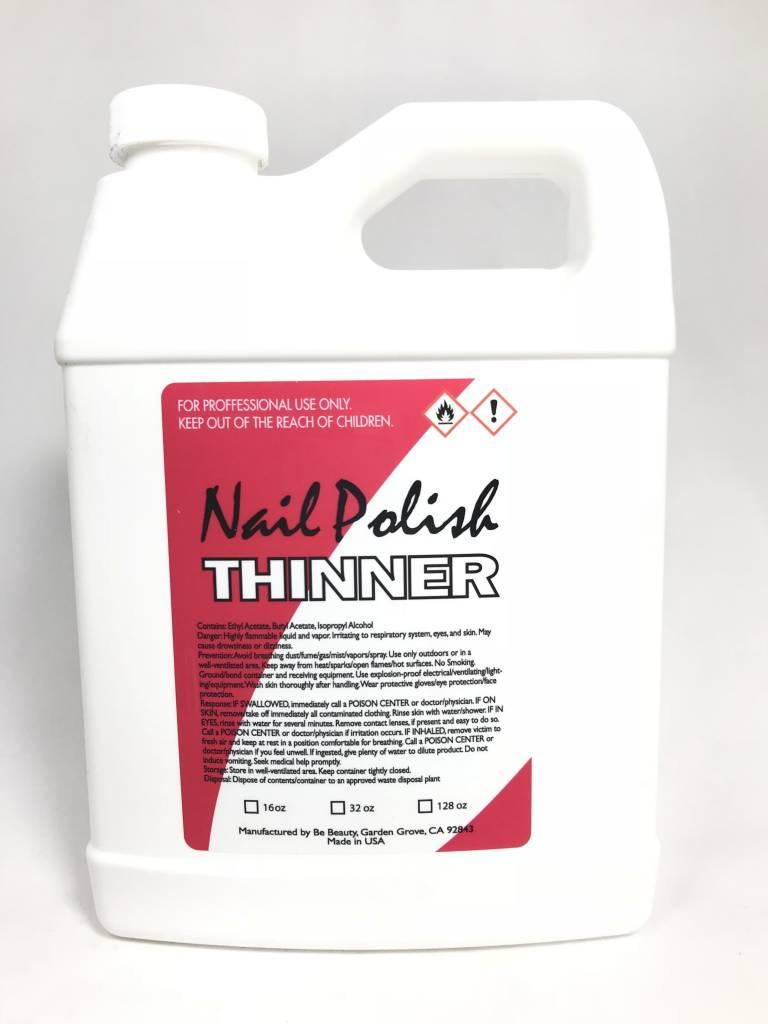 BeBeauty Nail Polish Thinner 32oz - Sunshine Nail Supply