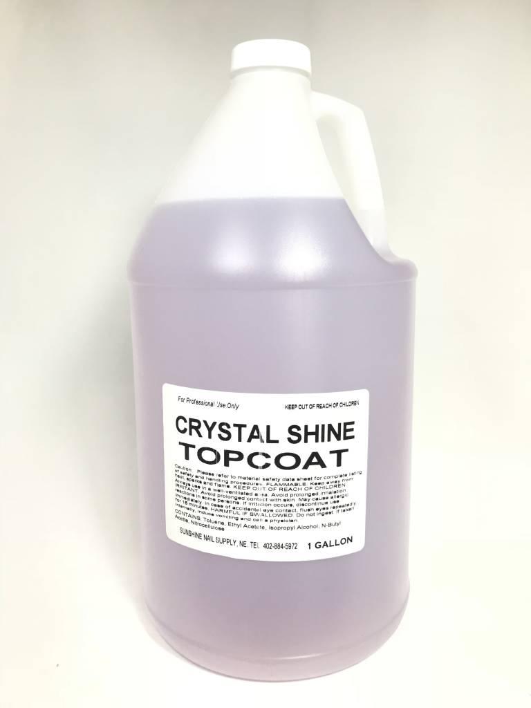 BeBeauty Premium Crystal Shine Top Coat 1gal