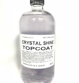 BeBeauty Premium Crystal Shine Top Coat 32oz