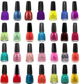 * China Glaze Polish 0.5 oz Bottle