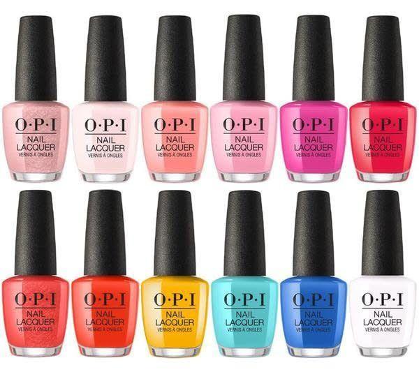O.P.I Lacquer Color 0.5 oz Bottle