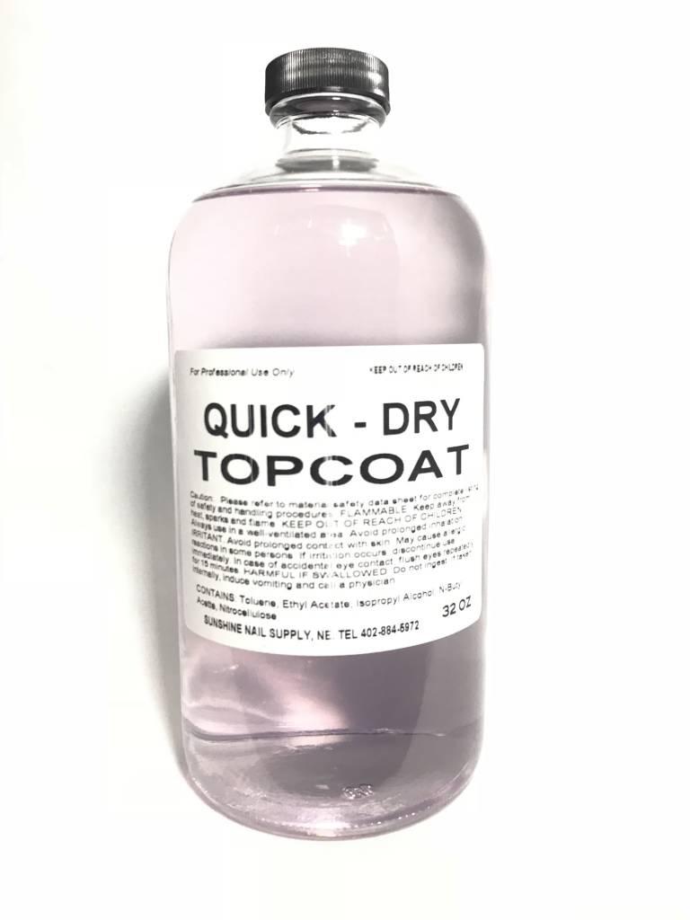 BeBeauty Top Coat Quick Dry 32oz