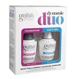 Gelish Dynamic Duo Top & Base