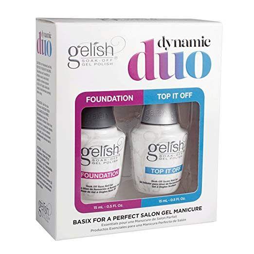 Gelish Dynamic Duo Top & Base