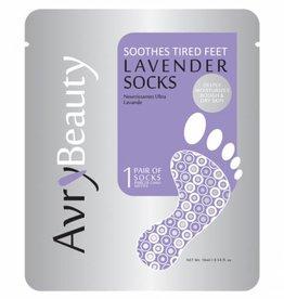 AvryBeauty Lavender Socks (50pcs/case)