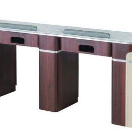 "Double Nail Table - 68 7/8"" - 1-Hole LED (90)"