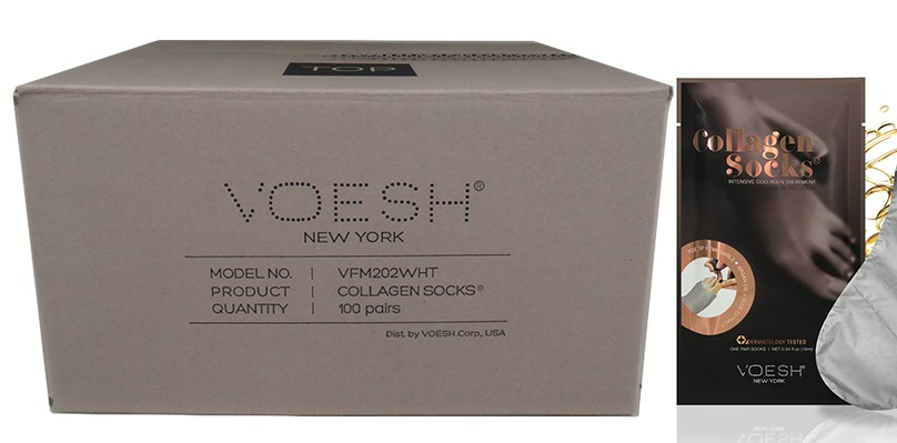 Voesh Collagen Sock Treatment (100pcs/box)