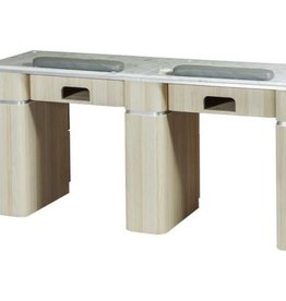 "Double Nail Table - 68 7/8"" - 1-Hole LED (517)"