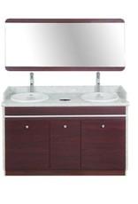 """Double Sink With Faucets - 55"""" (90)"""