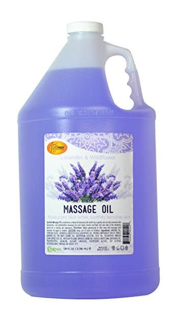 Spa Redi Massage Oil (4 Gallon/Case)