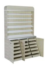 """I Polish Rack With Gel Color Cabinet - 48"""" (517)"""