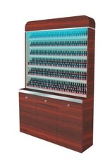 "Polish Rack With Gel Color Cabinet - 48"" (90)"