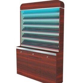 "Polish Rack With Gel Color Cabinet - 48"" (90)"