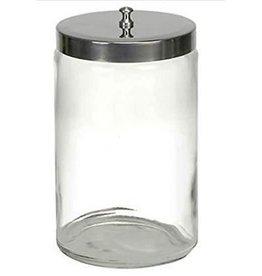 7x4 1/4 Unlabeled Glass Sundry Jar