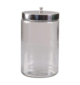 4x4 Glass Sundry Jar