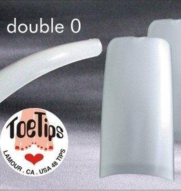 Lamour Toe Tip Natural 00 (50pcs/bag)