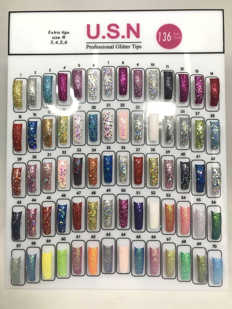 U.S.N Glitter Nail Tip