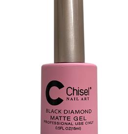 Chisel Black Diamond Gel Matte Top Coat