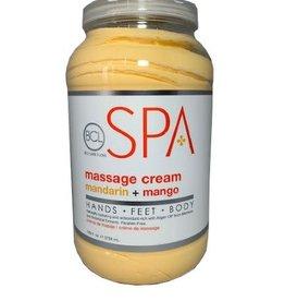 BCL Spa  1 Gallon Mandarin + Mango Massage Cream single