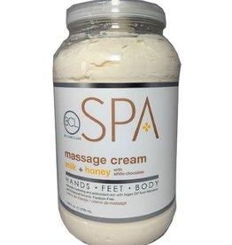 BCL Spa  1 Gallon Milk + Honey Massage Cream single