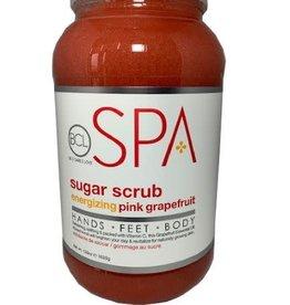 BCL Spa  1 Gallon Pink Grapefruit Sugar Scrub single