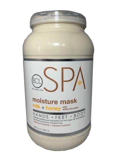 BCL Spa  1 Gallon Milk + Honey Moisture Mask single