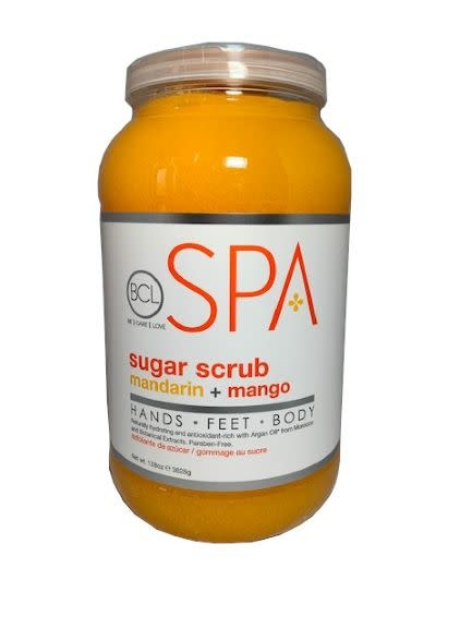 BCL Spa  1 Gallon Mandarin + Mango Sugar Scrub single