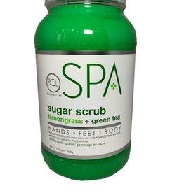 BCL Spa  1 Gallon Lemongrass + Green Tea Sugar Scrub single