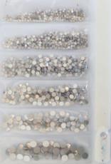 BK Crystal Rhinestones 5 Size Bundle