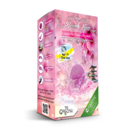 2E Organic 9 in 1 Bomb Spa Japanese Cherry Blossom Single