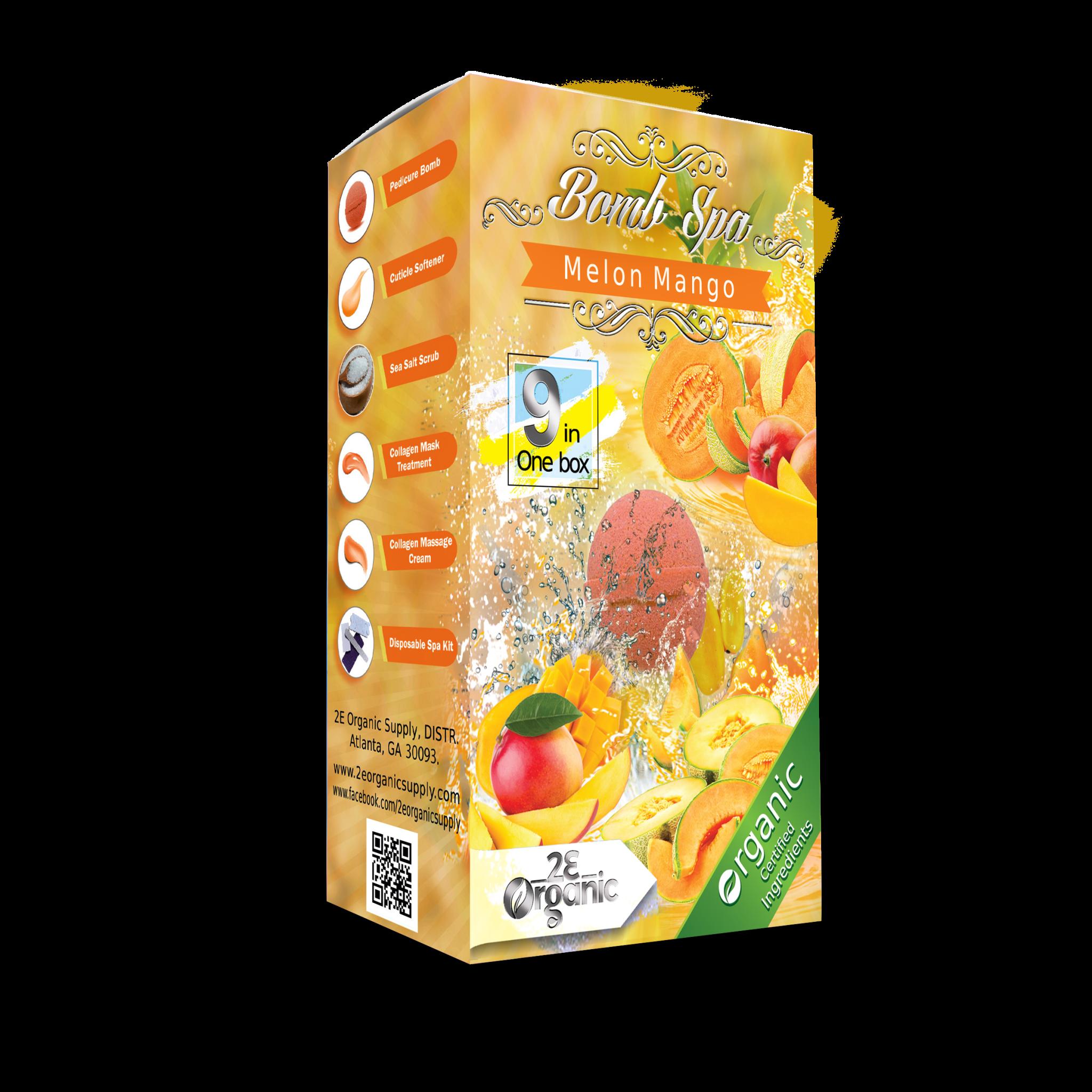 2E Organic 9 in 1 Bomb Spa Melon Mango Single