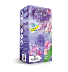 2E Organic 9 in 1 Bomb Spa Peony Orchid Single
