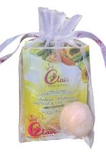 CLAIR 4 in 1 Pedi Kit  Papaya & Cucumber Single