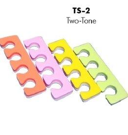 Soft Toe Separator 2 tones 1000 Pair/cs (TS-2-1000)