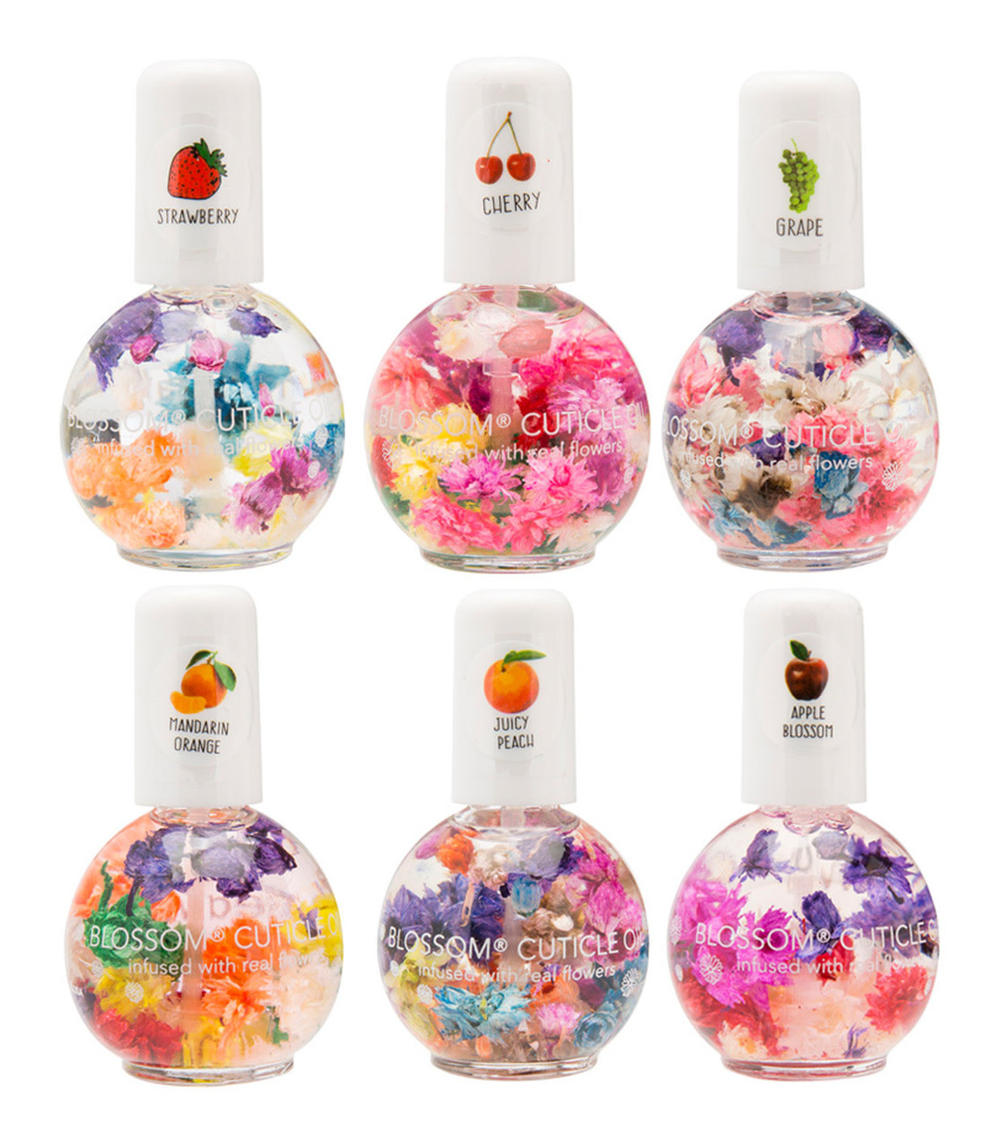 Blossom Fruit Scented 0.5oz Cuticle Oil (Box of 18)