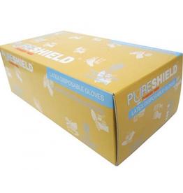 PureShield  Box of 100 Gloves ( Xsmall & Small)