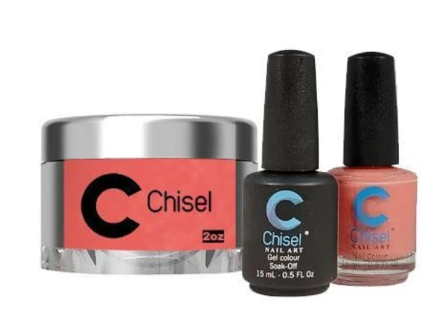 Chisel Trio (Gel + Lacquer + Dip) Large
