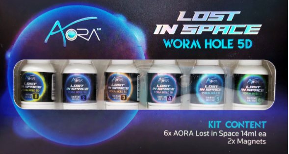 Aora Lost In Space Kit 5D Cat Eye