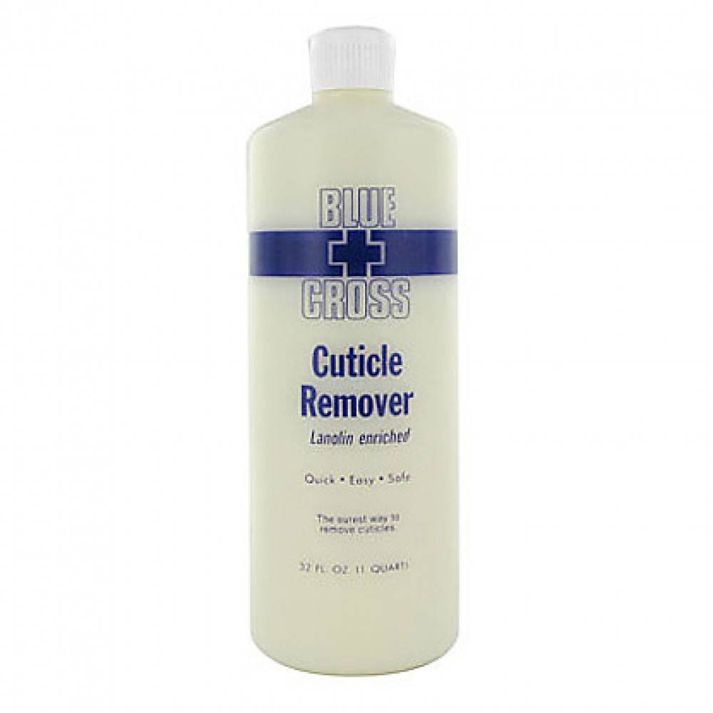 Blue Cross Cuticle Remover 32oz single