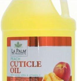 Organic Cuticle Oil 4 Gal Case  Peach single