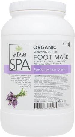 Organic Foot Mask Gallon Sweet Lavender Single