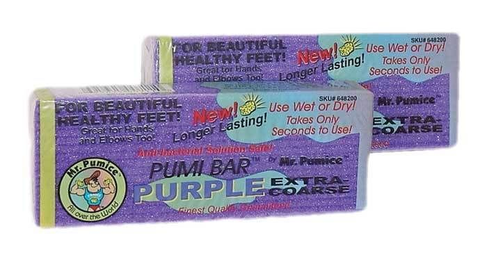Mr Pumice Purple Large Bar(12Pcs/Case)