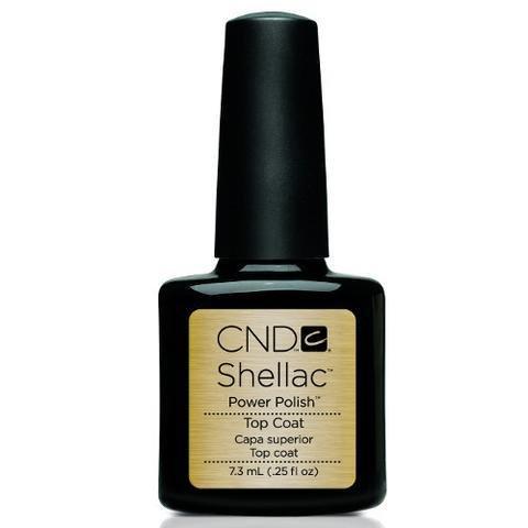 CND Shellac Top Coat .25oz