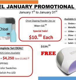 Chisel Complete Set Deal!