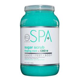 BCL Spa  1 Gallon Tingling Mint + CBD Sugar Scrub single