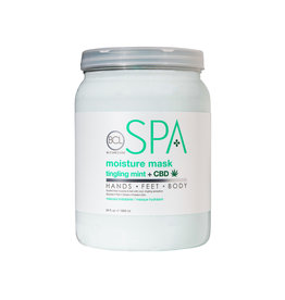 BCL Spa  64 oz Tingling Mint + CBD Moisture Mask single
