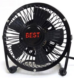 "5"" Mini Fan (Black)"